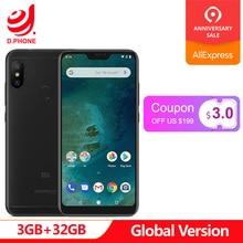 Küresel Sürüm Xiao mi mi A2 Lite 3 GB RAM 32 GB ROM Snapdragon 625 Octa çekirdek 5.84