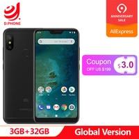 Global Version Xiaomi Mi A2 Lite 3GB RAM 32GB ROM Snapdragon 625 Octa Core 5.84 19:9 Full Screen Dual AI Camera Smartphone
