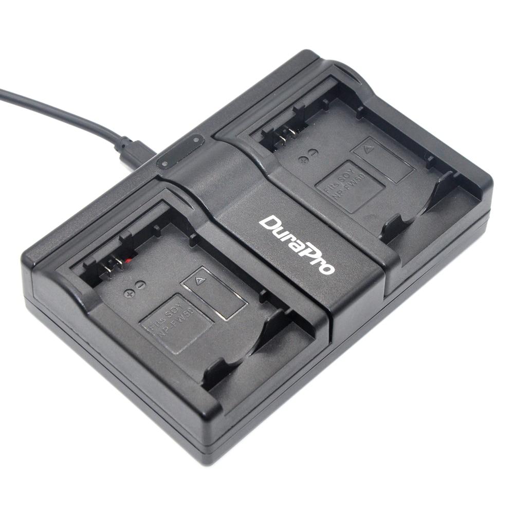 Camera USB Charger Battery For Sony NP-FW50 NEX-5A NEX-5C NEX-5D NEX-5H NEX-5K