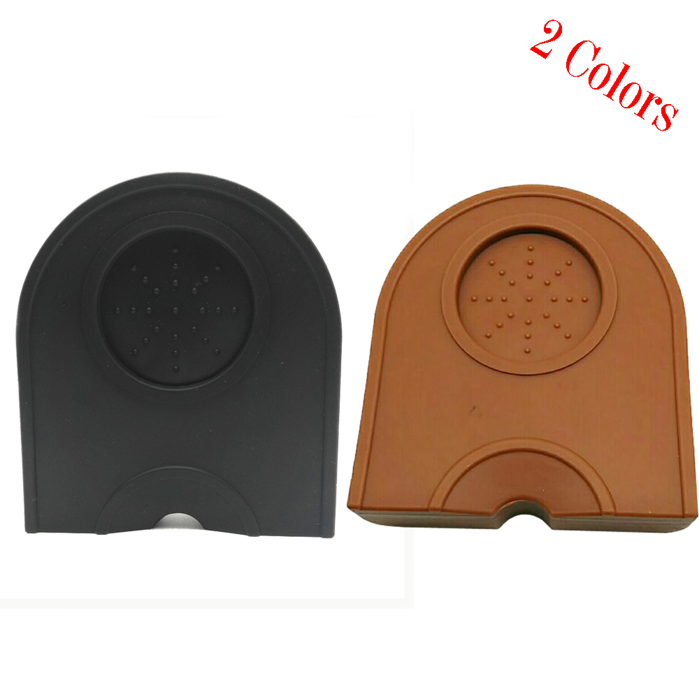 13.5*14*3cm High Quality Espresso Coffee Tamper Mat Silicon Corner Mat(no Coffee Tamper)