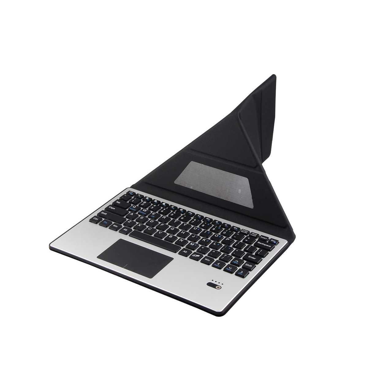 ل هواوي 9/10 بوصة اللوحي علبة لوحة مفاتيح بلوتوث ممتازة ل ASUS لينوفو 10 ''اللوحي جلد الوجه غطاء حامل + ستايلس