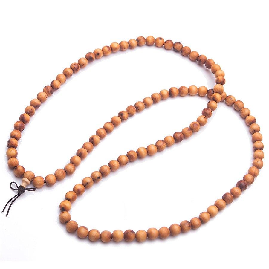 Vietnam parfumé bois Stretch Bracelet femmes hommes mode bijoux 10mm 108 perles Aloeswood bois prière ronde perle 2018 nouvellement