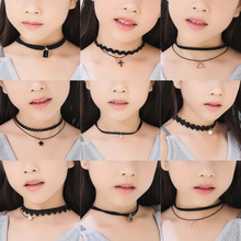 Exquisite Gothic Stretch Little Girl Choker Necklace