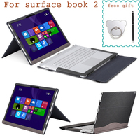 Detachable Laptop Case for Microsoft Surface Book 2 13.5 Tablet Sleeve Split Design Stand Cover for Surface Book 2 15 Inch