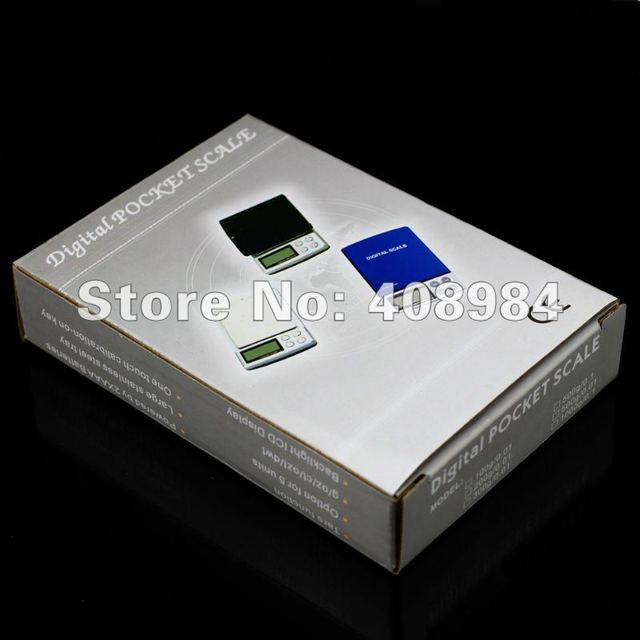 hot sales 0.1g x 2000g  Mini DIGITAL electric POCKET SCALES 2kg Jewerlry gram scales weight balance with backlight