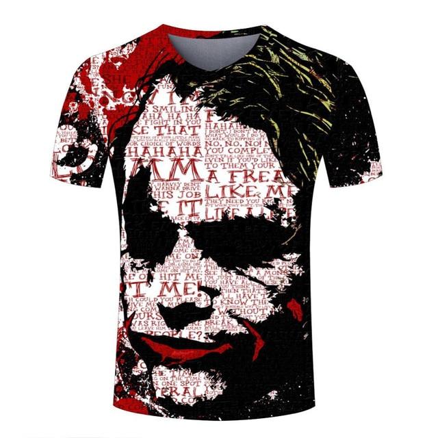 T-shirt Homme 3D imprimé Dessin Animé 3