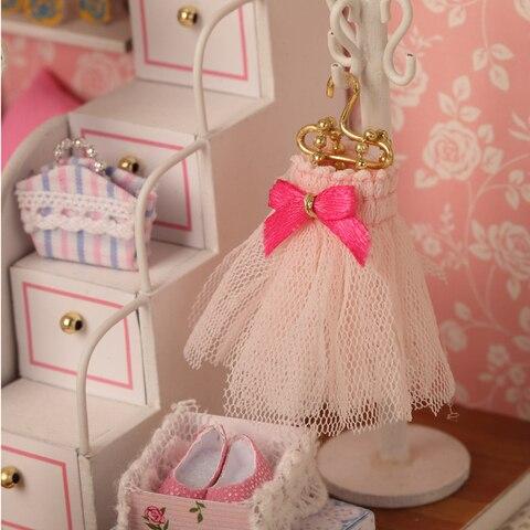 miniatura casa de bonecas miniaturas acessorios do bebe presente aniversario