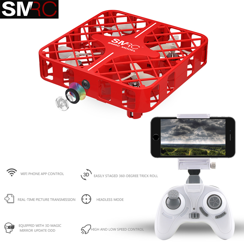 New Product SMRC M8HS mini font b drones b font with camera hd altitude hold rc