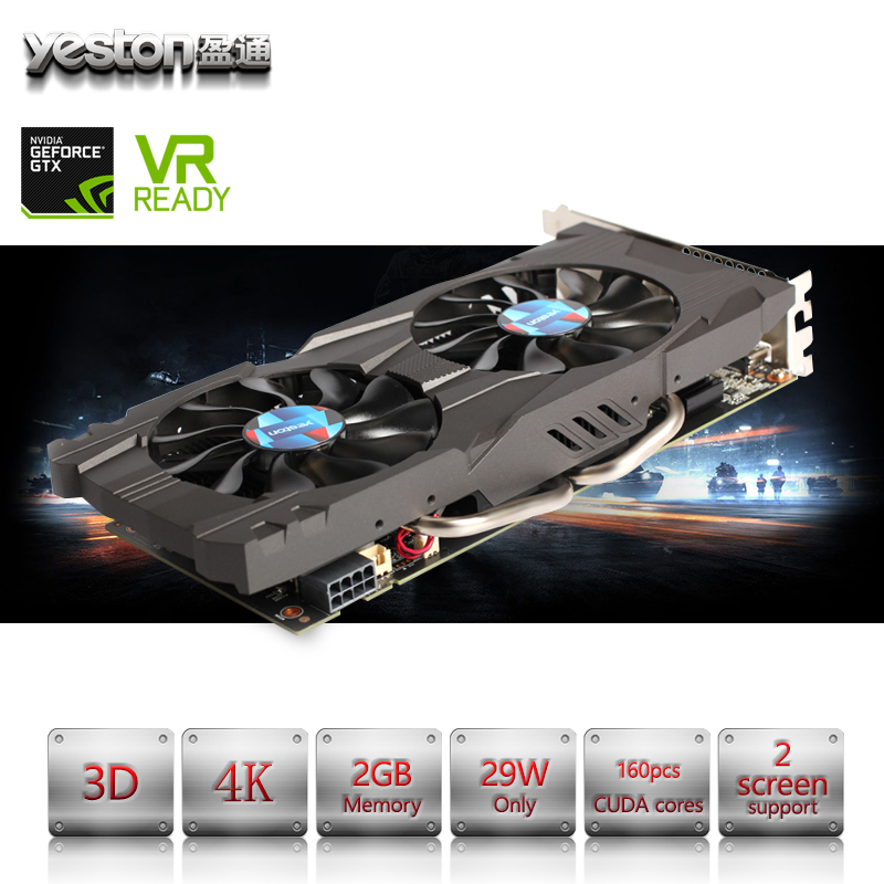 Yeston NVIDIA GeForce GTX 1060 GPU 3GB GDDR5 192 bit Gaming Desktop computer PC Video Graphics Cards support PCI-E X16 3.0 yeston nvidia geforce gt 730 gpu 2gb