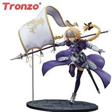 Tronzo อะนิเมะ Fate Grand Order Jeanne DArc รูปพีวีซีแอ็คชั่นของเล่น FGO ไม้บรรทัด Jeanne DArc Figurine ตุ๊กตาของเล่น