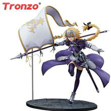 Tronzo jouets figurines figurines Anime Jeanne DArc, en PVC, grande commande, jouets daction, Collection FGO règle Jeanne DArc
