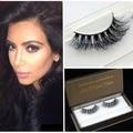 Pure Handmade 100% real Siberian Mink False eyelashes messy mink fur false eyelashes extension 3D faux lashes in stock DM-35
