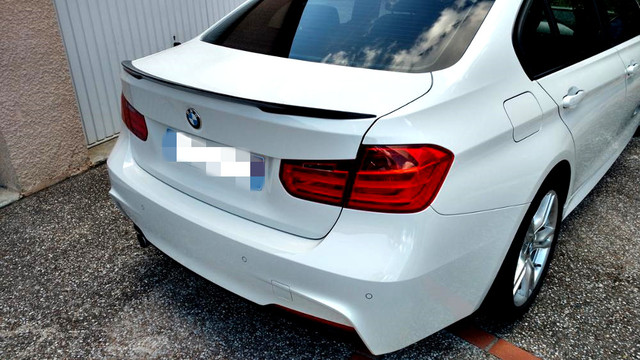 aliexpress : buy for bmw f30 f80 m3 p style spoiler carbon fiber