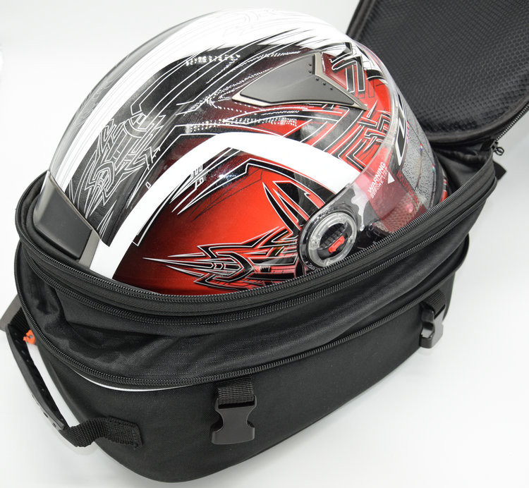 BikeGP GP969 motorcycle tail bag Helmet bag luggage bag backseat ...