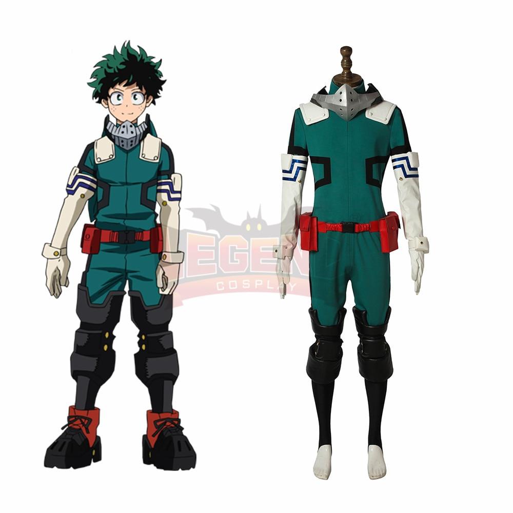 US $127 0 |My Hero Academia Boku no Hero Akademia Izuku Midoriya Cosplay  Costume Season 3 costume-in Anime Costumes from Novelty & Special Use on