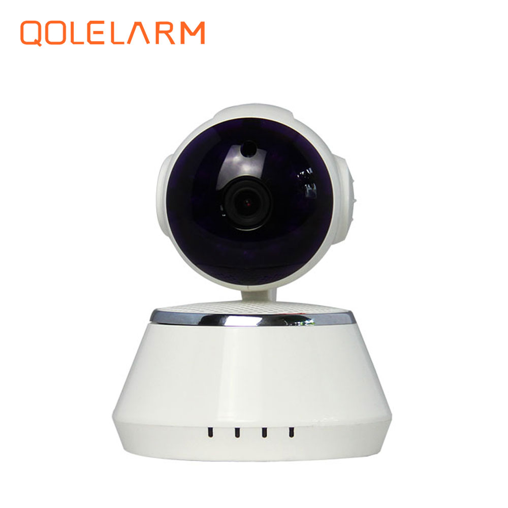 QOLELARM Home Security IP Camera Wireless Smart WiFi Camera Surveillance 720P Night Vision CCTV HD Mini Baby Monitor annke mini hd 720p smart wireless pt security camera 1 0mp indoor ip camera wifi baby monitor 720p cctv surveillance camera
