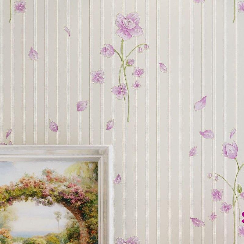 online kaufen großhandel lila tapete aus china lila tapete, Deko ideen