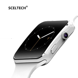 SCELTECH Bluetooth Smart Watch X6 Sport Passometer Smartwatch with Camera Support SIM Card Whatsapp Facebook for Android Phone