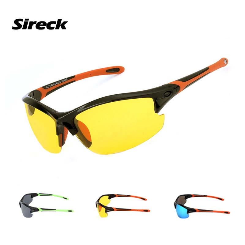 Sireck Cycling Glasses Men Women 2018 Polarized UVproof Outdoor Sport Bike Eyewear Fishi ...