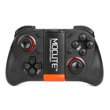 Mocute 050 Wireless Bluetooth Gamepad Remote Control Joypad Selfie Shutter Joystick Game Controller For PC Game/Smartphone/X Box