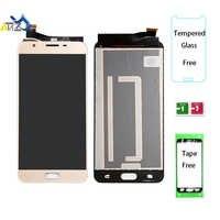 An'Z Für Samsung Galaxy J7 prime G610F/DS LCD Bildschirm SM-G610 G610M G610K/L/S 2016 lcd display OEM pantalla ekran Touch Digitizer