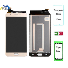 An'Z For Samsung Galaxy J7 prime G610F/DS LCD Screen SM-G610 G610M G610K/L/S 2016 lcd display OEM pantalla ekran Touch Digitizer чехол для samsung galaxy j7 prime sm g610f ds skinbox 4people slim silicone прозрачный