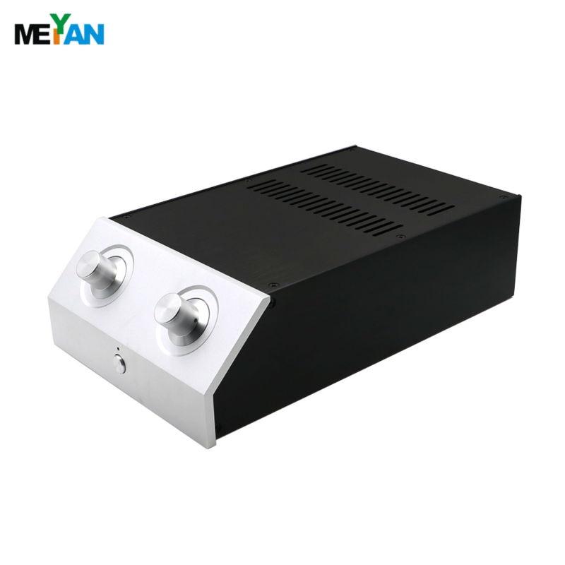 ФОТО 2210L Aluminum L Type Preamplifier enclosure /DAC case/amplifier chassis AMP BOX