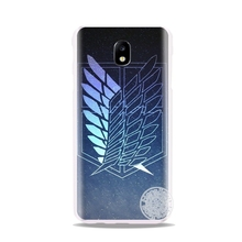 attack on Titan cover phone case for Samsung Galaxy J3 J5 J7 2017  J527 J727 J327 J330 J530 J730