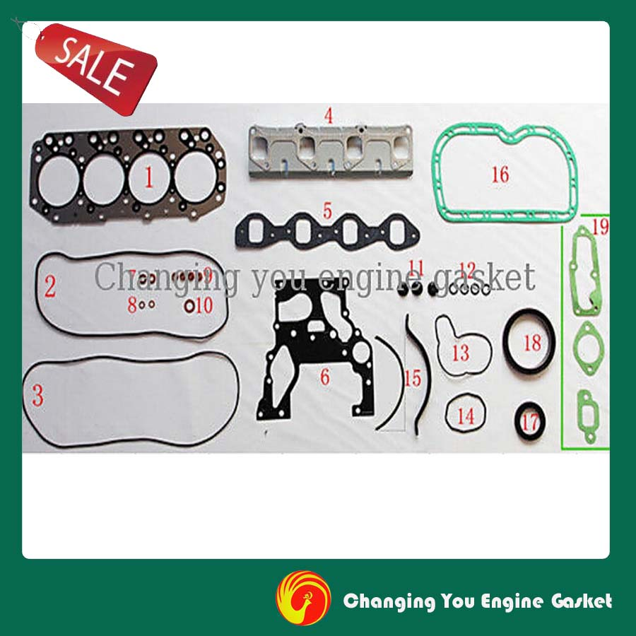 popular isuzu engine parts buy cheap isuzu engine parts lots from for isuzu trooper 2 5l 4ja1 4jb1 engine parts overhaul package full engine gasket set 51017900