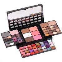 Makeup     Sets   74 Colors   Makeup   Kits For Women Cosmetics Box Make Up Kit Maquiagem Profissional Completa Glitter Eyeshadow Pallete