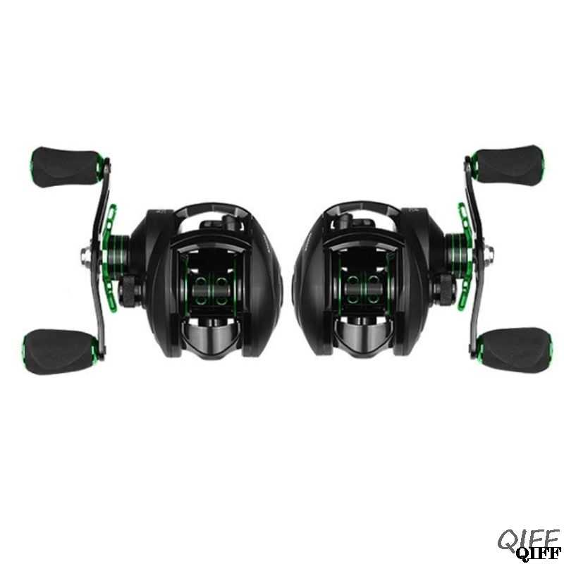 Throw 8.1: 1 Fishing Reel 8 KG Max Drag Left Right Hand Reinforced Micro-objects Water Drop Wheel Reels Body