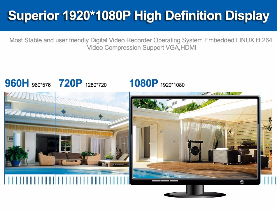 1080P Hight Definition Display