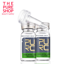 2 PCS  free shipping Hyaluronic acid best Skin Care 10ml anti aging serum intense hydration and moisture for skin care