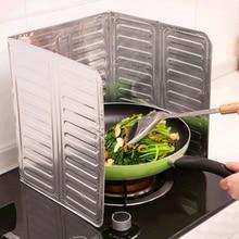 Алюминиевая фольга для кухни приготовление пищи Жарка сковорода масло всплеск анти брызги защитный щит W15