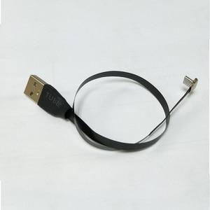 Image 2 - Плоский ультратонкий сверхмягкий низкопрофильный ленточный кабель для зарядки и передачи данных 25 см с Micro USB 90 градусов на usb 2,0