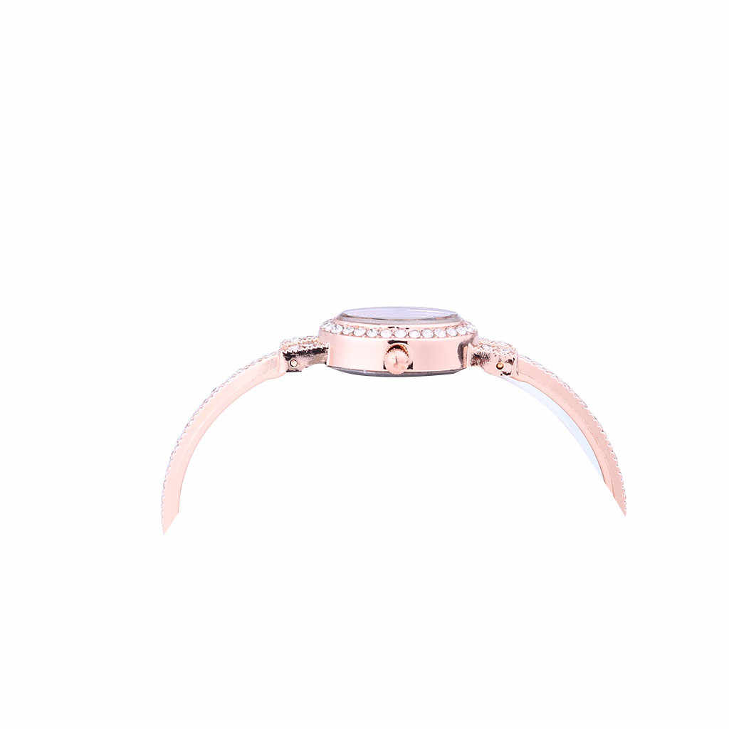 LVPAI שעון 2019 relogio masculino אופנה גבירותיי נשים שעונים נירוסטה ריינסטון קוורץ שעון יד למעלה מותג CC