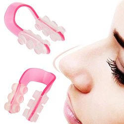LNRRABC Weiche Silicon Form die Nase Form Begradigen die Brücke der Nase Ausrüstung Nase Pflege