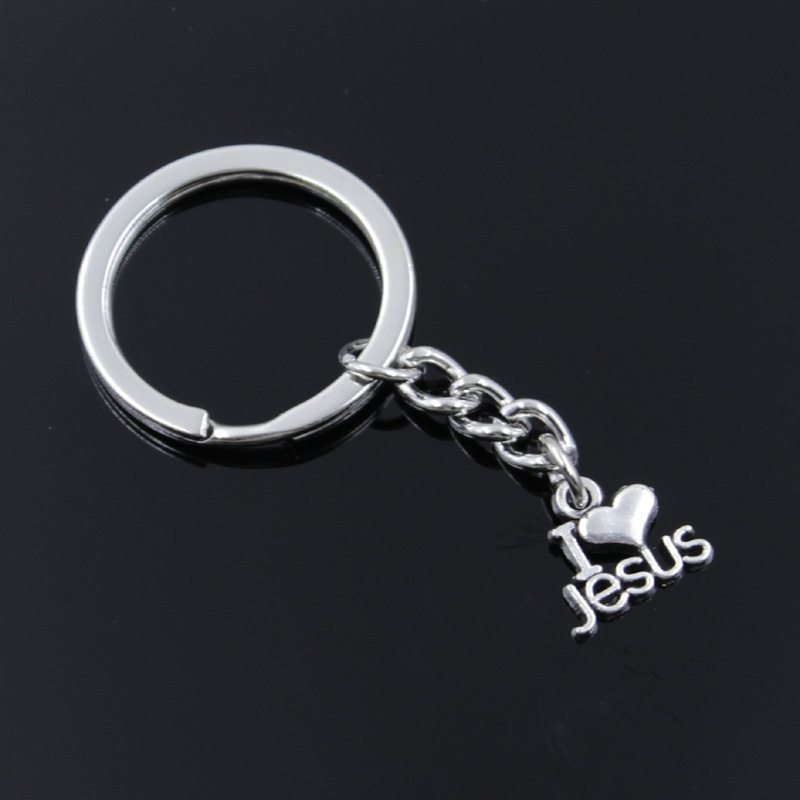 Vintage horse Key Rings Fashion Car Keychain Silver Color Metal Key Chains Accessory