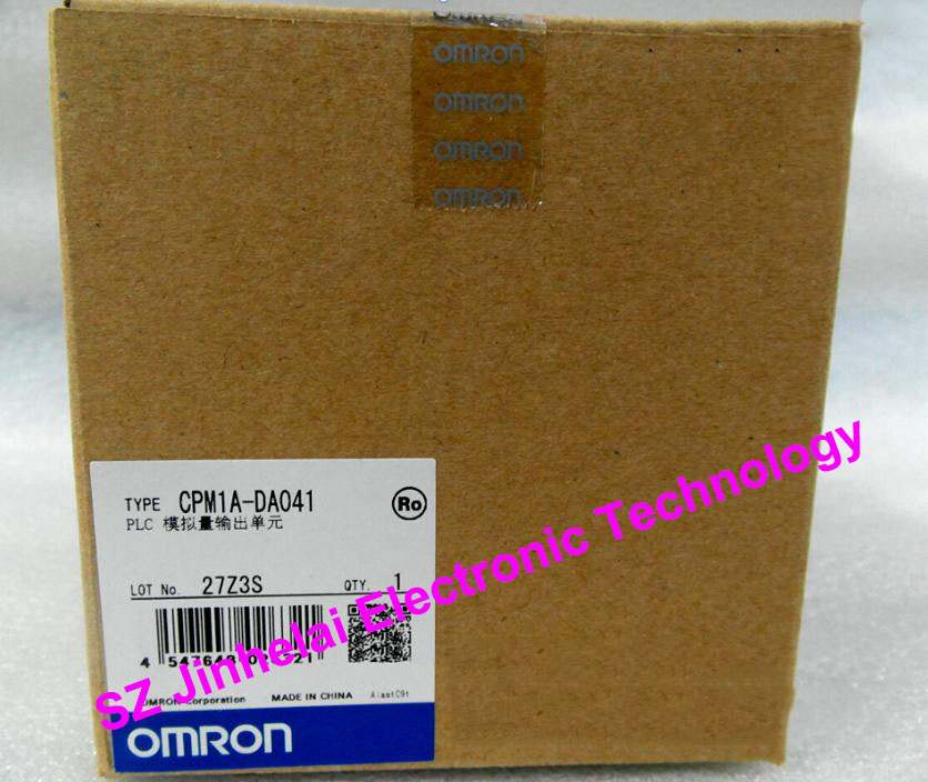 все цены на OMRON PLC Analog output unit CPM1A-DA041 New and original онлайн