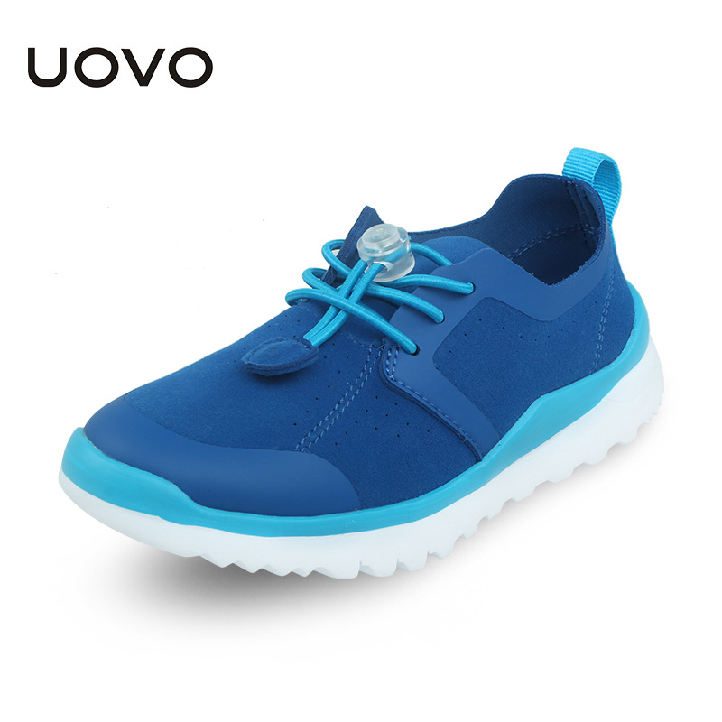 Uovo Brand New Kids Shoes Girls Sneaker Fashion Solid Breathable Child'S Casual Shoes Boys Autumn Shoes Kids Sport Light Sole 2017 new spring imported leather men s shoes white eather shoes breathable sneaker fashion men casual shoes