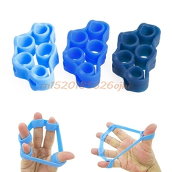 6pc finger gripper resistance bands finger stretcher silicone hand exerciser grip strength wrist trainer fitness equipment.jpg 250x250