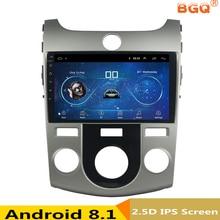 9″ Android 8.1 Car DVD Multimedia Player GPS For KIA Forte Cerato 2008 2009 2010-2012 audio car radio stereo navigator bluetooth