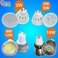 3 W 5 W 9 W 12 W 15 W levou holofotes GU10 lâmpada led Ponto de luz 110 v 220 v (85 v-240 v) branco Frio branco quente ultra bright frete grátis