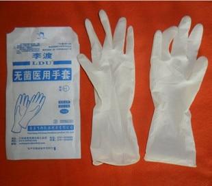 Médico genuino guantes de goma marca guantes * lidu