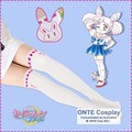 High quality Cheap Sailor Moon Cosplay Cats Crystal Tsukino Usagi Cosplay Accessory Women Tight  Patchwork Sexy Pantyhose