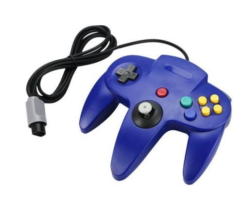 2016 Recién Llegado de Largo Mango Controlador de Juego Gamepad Joystick para Nintendo N64 Videojuego Controle Para N64 Envío Gratis