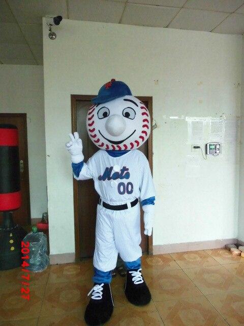 Cosplay costumes de haute qualité Baseball garçon mascotte Costume mascotte Costume avec livraison rapide gratuite