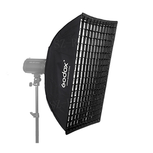 "Image 3 - Godox FW60*90 60*90cm 23.6""x35.4"" Strip Beehive Honeycomb Grid Softbox with Bowens Mount"