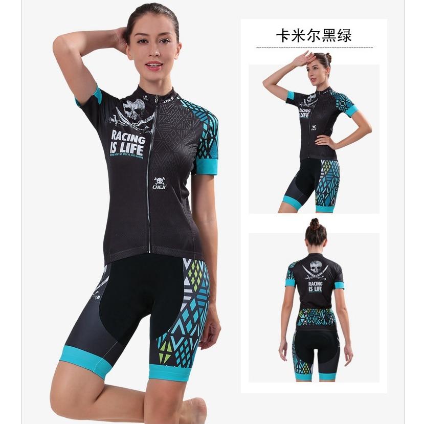 Women Sports Cycling Jersey Short Sleeve Cycling Clothing Suit Bikes Short Sleeve Bike Clothing sutia adesivo v7720 women sports clothing