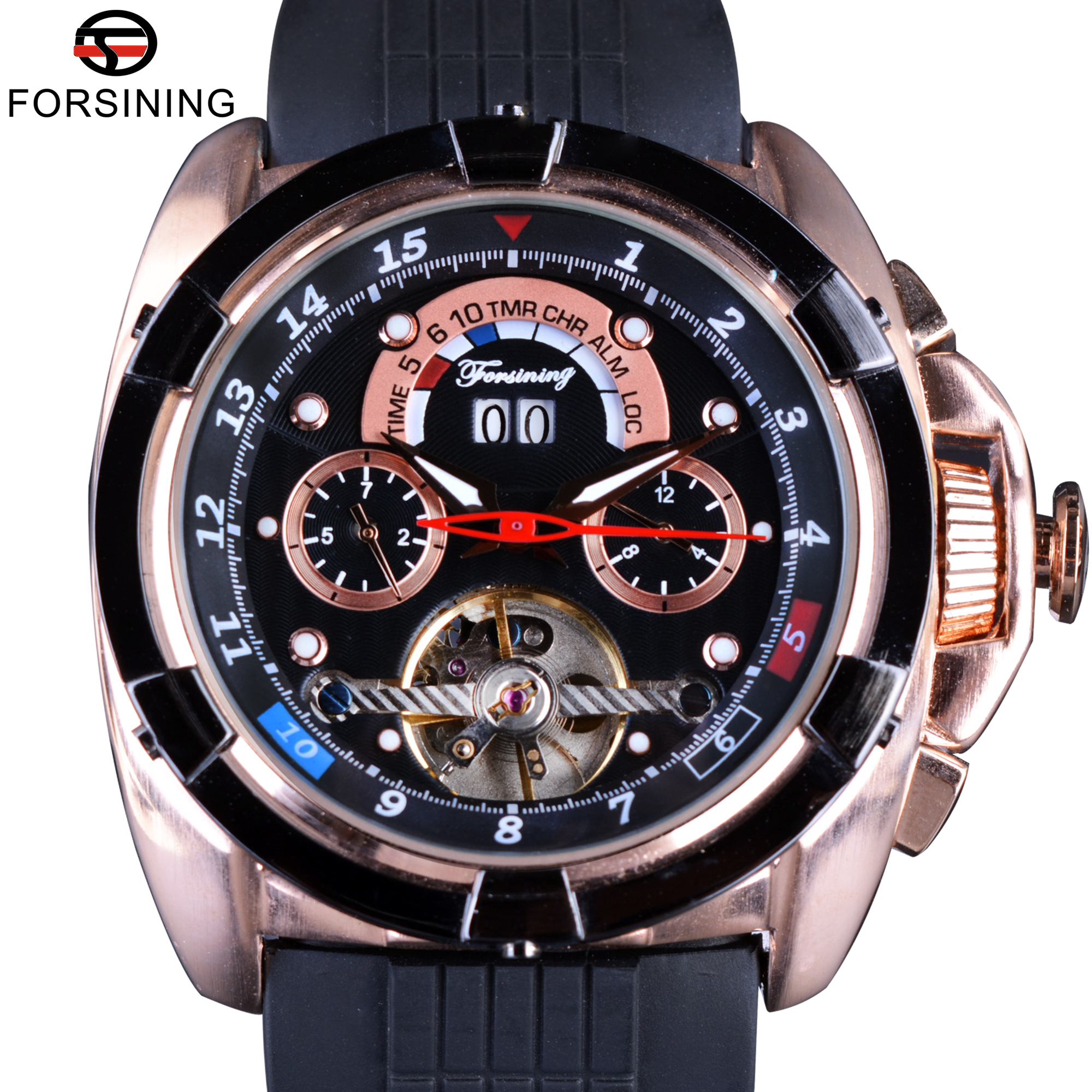 Forsining Multifunction Tourbillon Calendar Display Fashion Men Sport Watches Rose Golden Watch Men Luxury Brand Automatic Watch forsining multifunction tourbillon date day display rose golden watch men luxury brand automatic watch fashion men sport watches